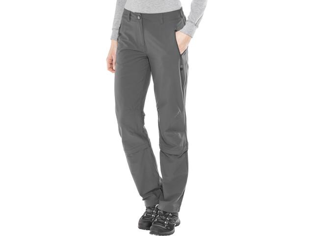 schönes Design letzte Veröffentlichung verkauf uk Schöffel Engadin Zip-Off Pants regular Damen charcoal